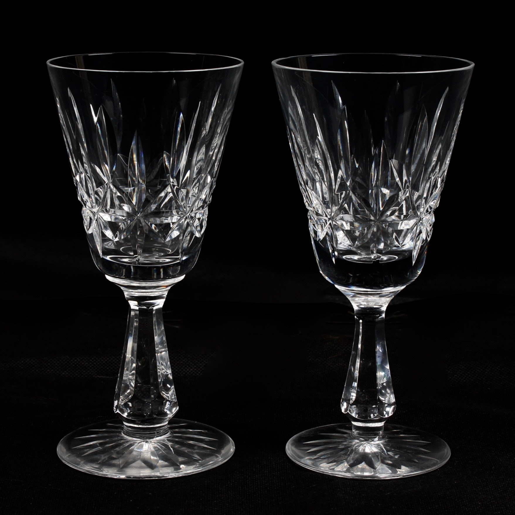 "Waterford Crystal ""Rosslare"" Sherry Glasses"
