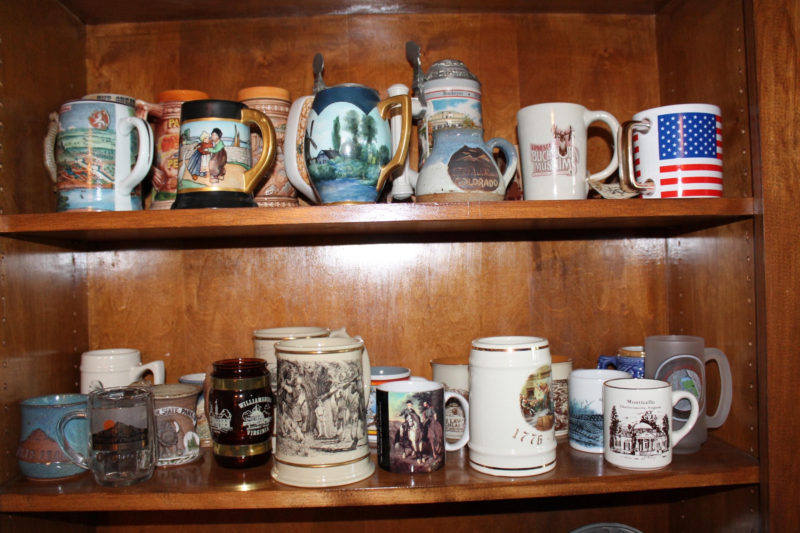 Vintage Steins and Mugs
