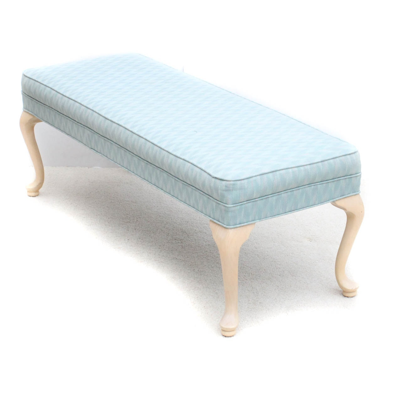 Upholstered Wooden Bench