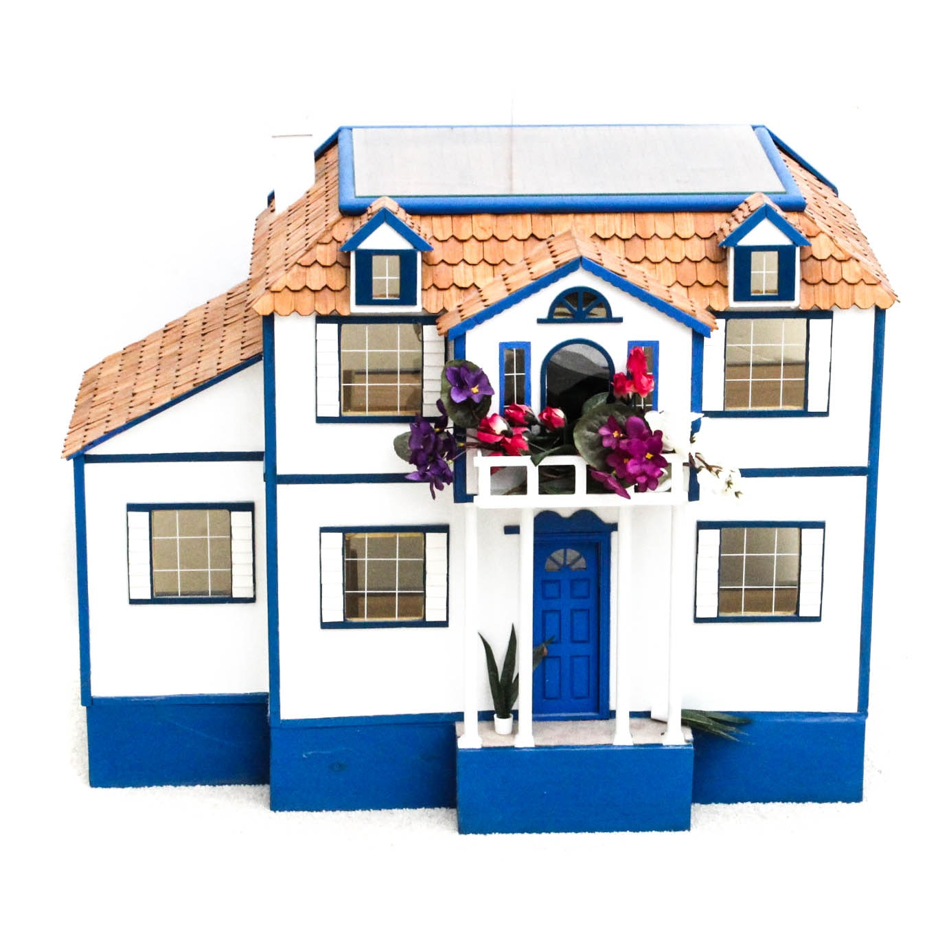 Hand Crafted Wooden Dollhouse