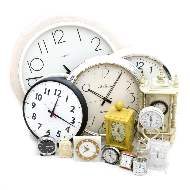 Wall Clocks, Mantel Clocks, Alarm Clocks