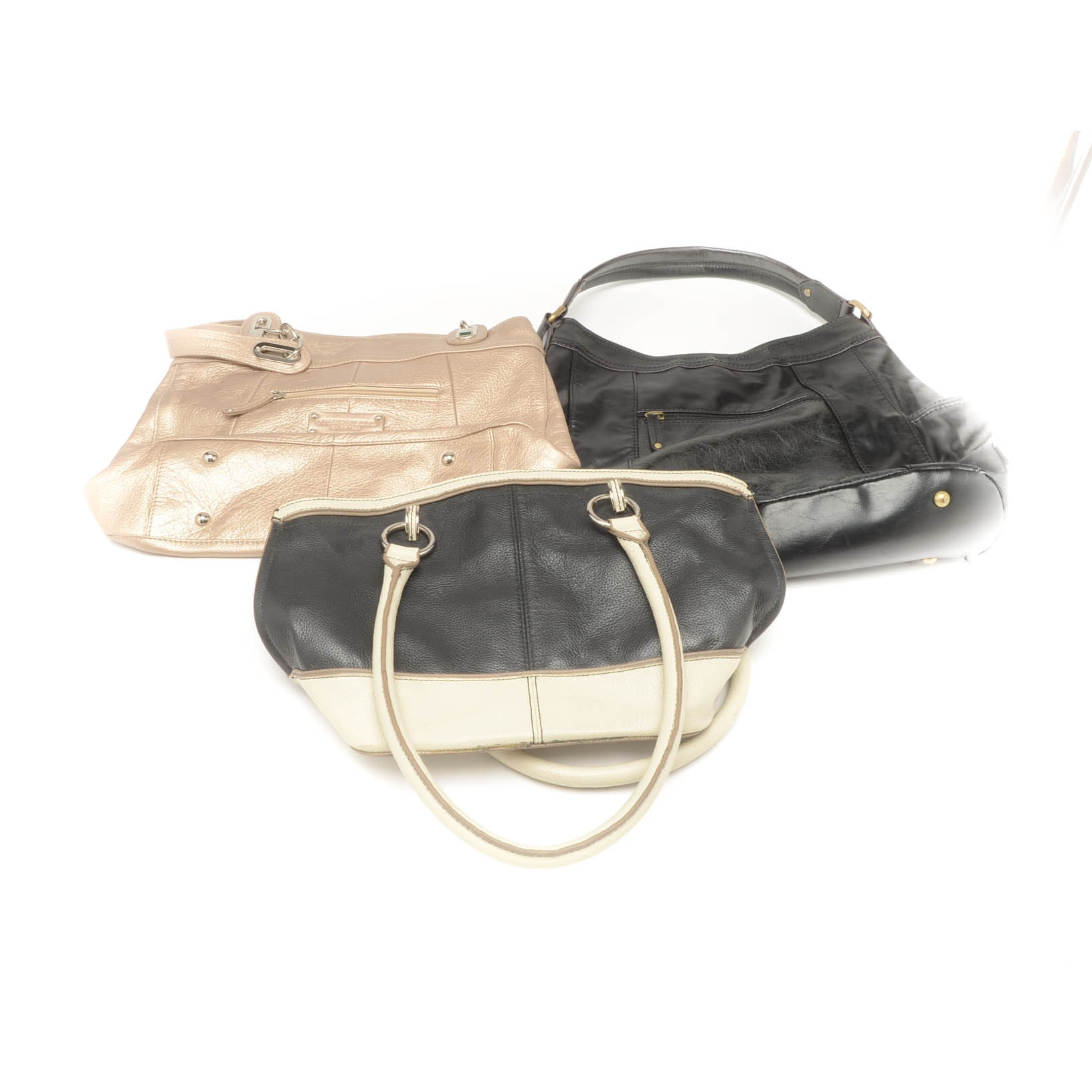 Collection of Tignanello Leather Handbags