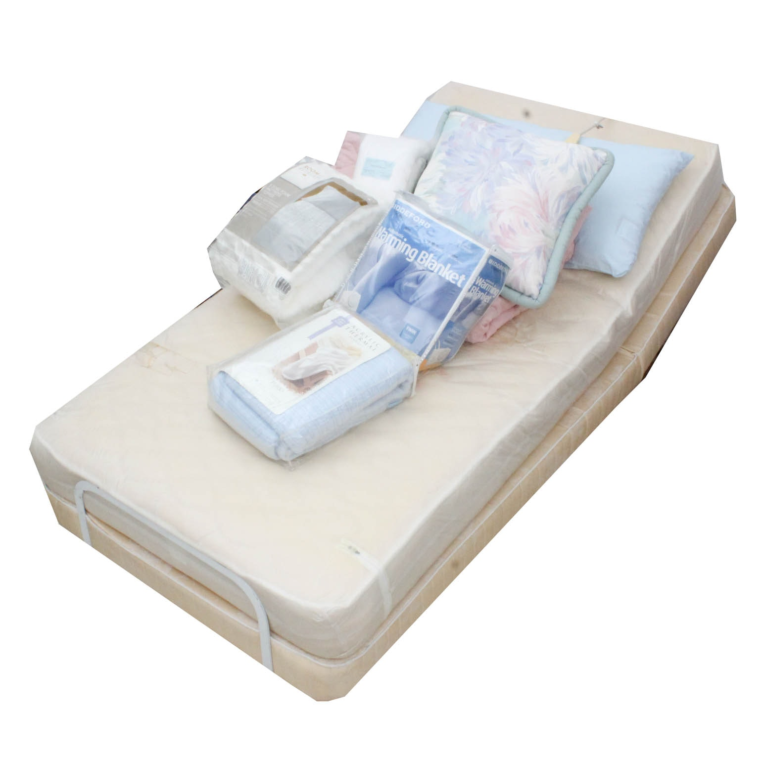 Twin Size Adjustable Base Bed