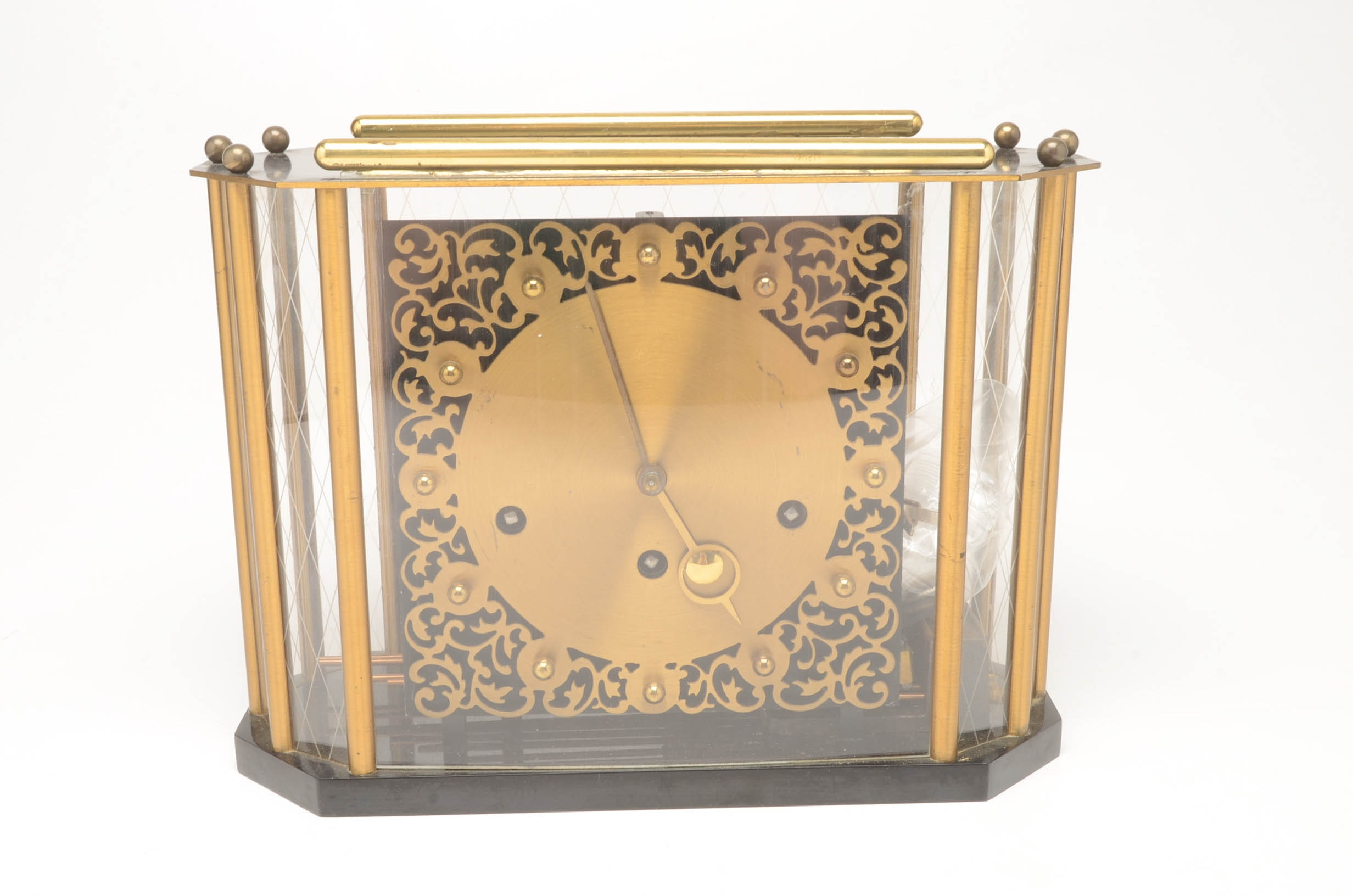 Mid-Century Mantel Clock by Franz Hermle