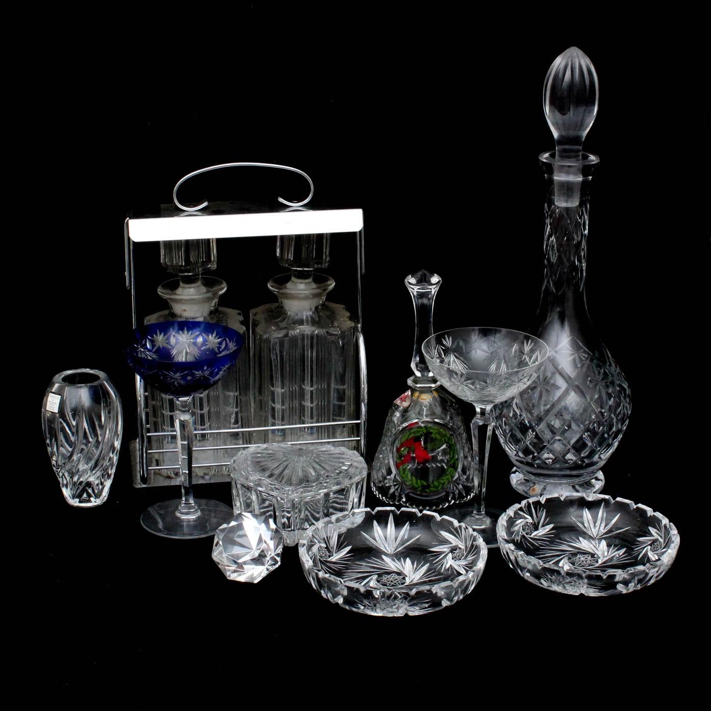 Crystal Barware and Decor
