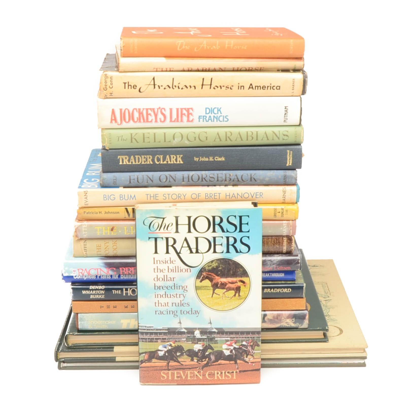 Horse Themed Books From Cawood Ledford Estate