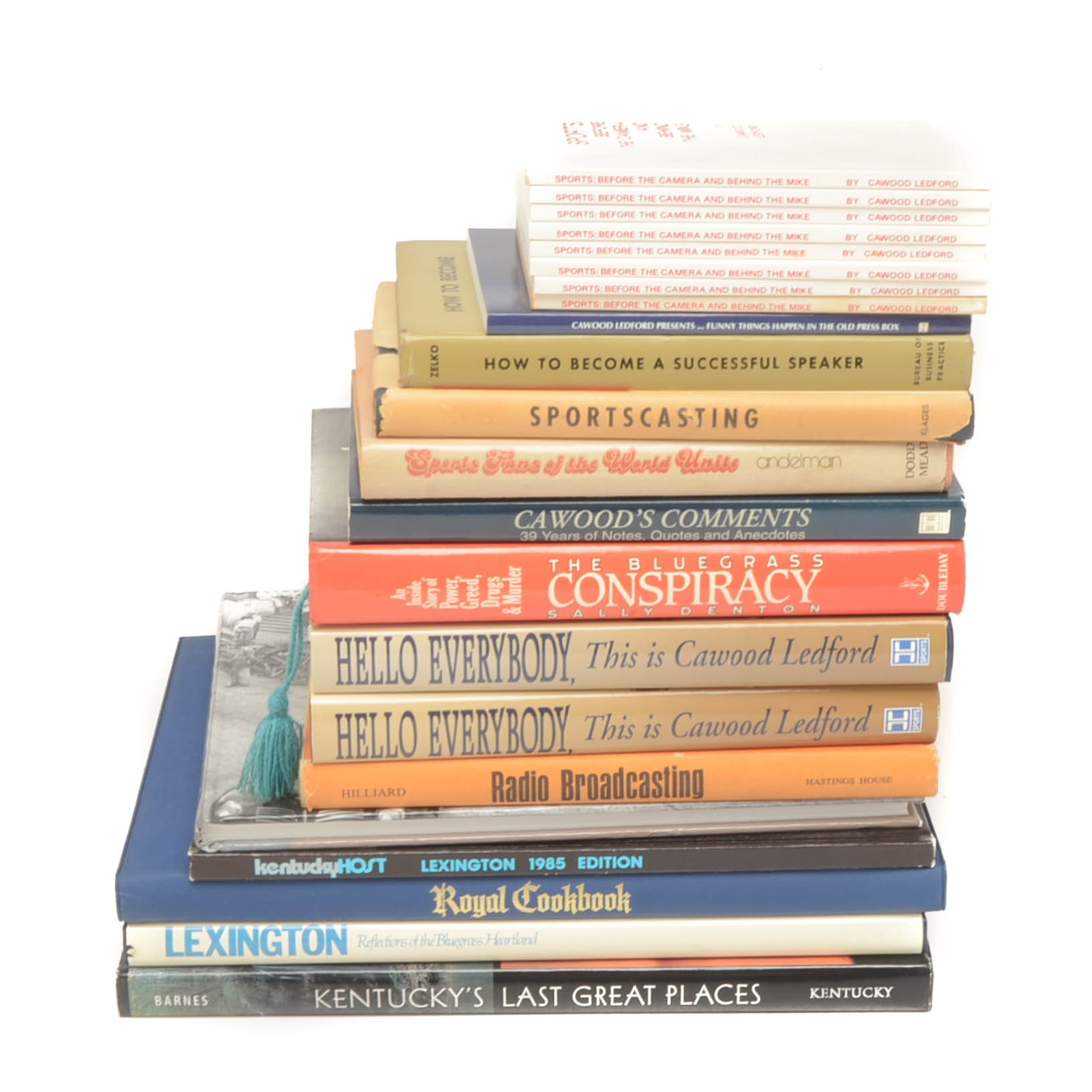 Books From The Cawood Ledford Estate