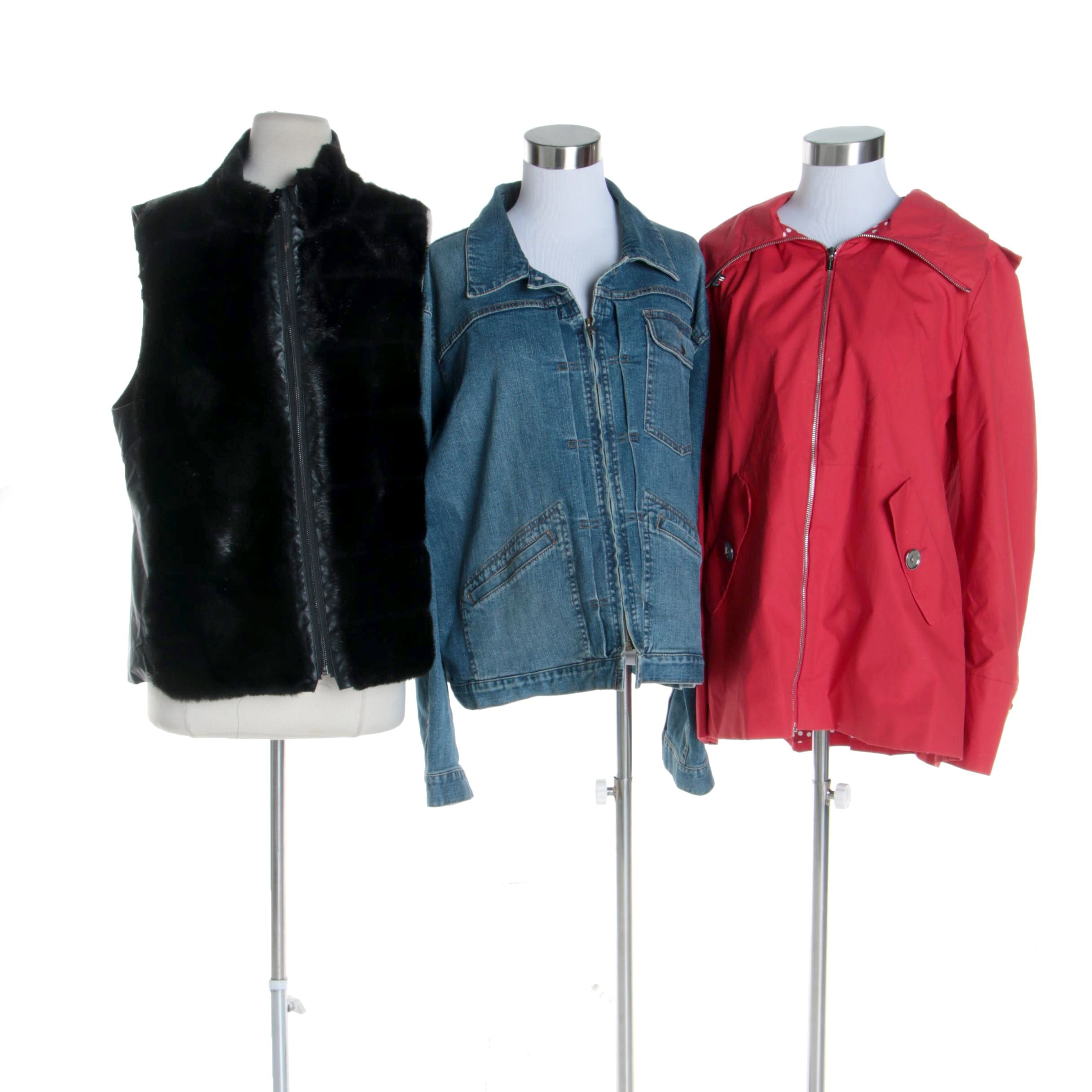 Women's Jones New York and Lauren Jean Co. Ralph Lauren Jackets