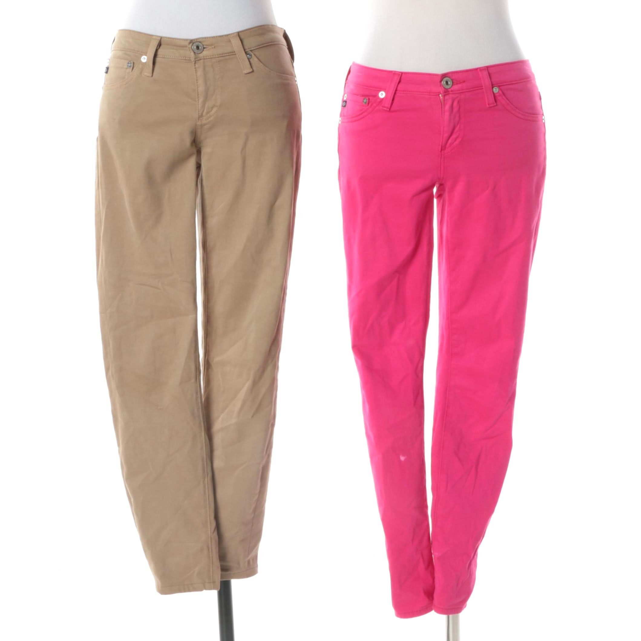 Women's Adriano Goldschmied Super Skinny Ankle and Cigarette Leg Pants