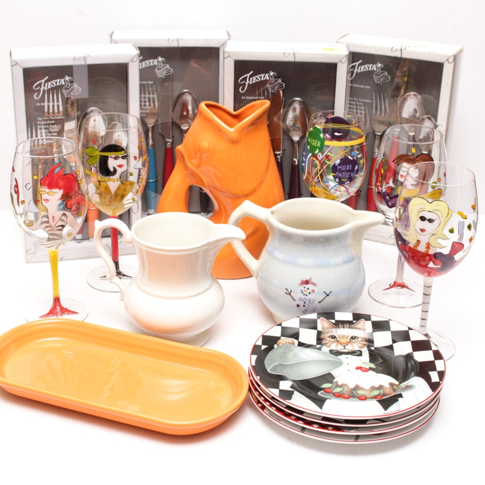 Homer Laughlin Fiesta Tableware and More
