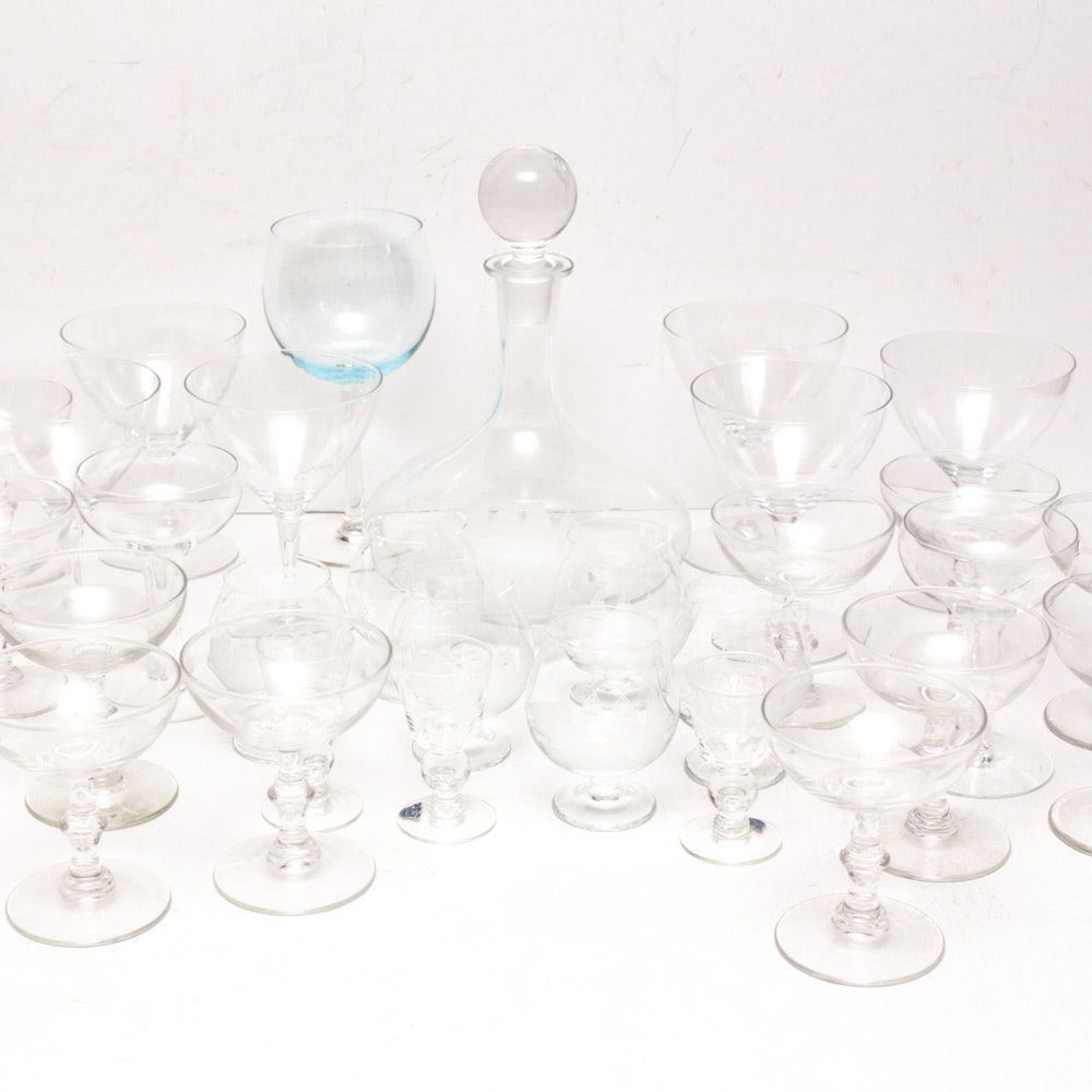 Glass Stemware and More