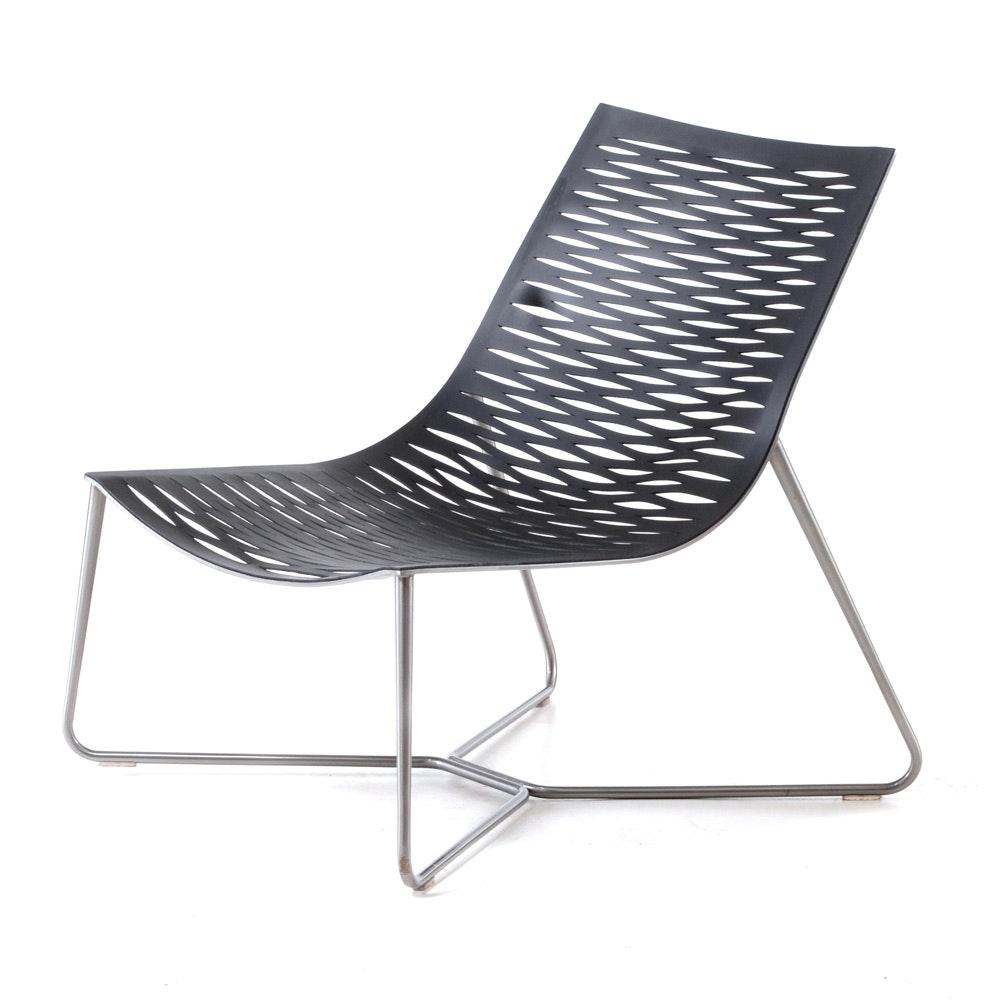 "Modloft ""York"" Lounge Chair"