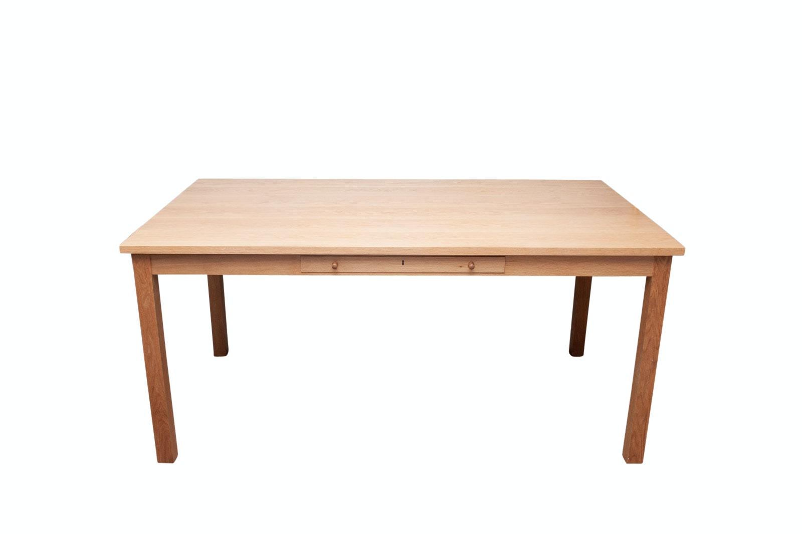 Thomas Moses Blond Oak Writing Desk