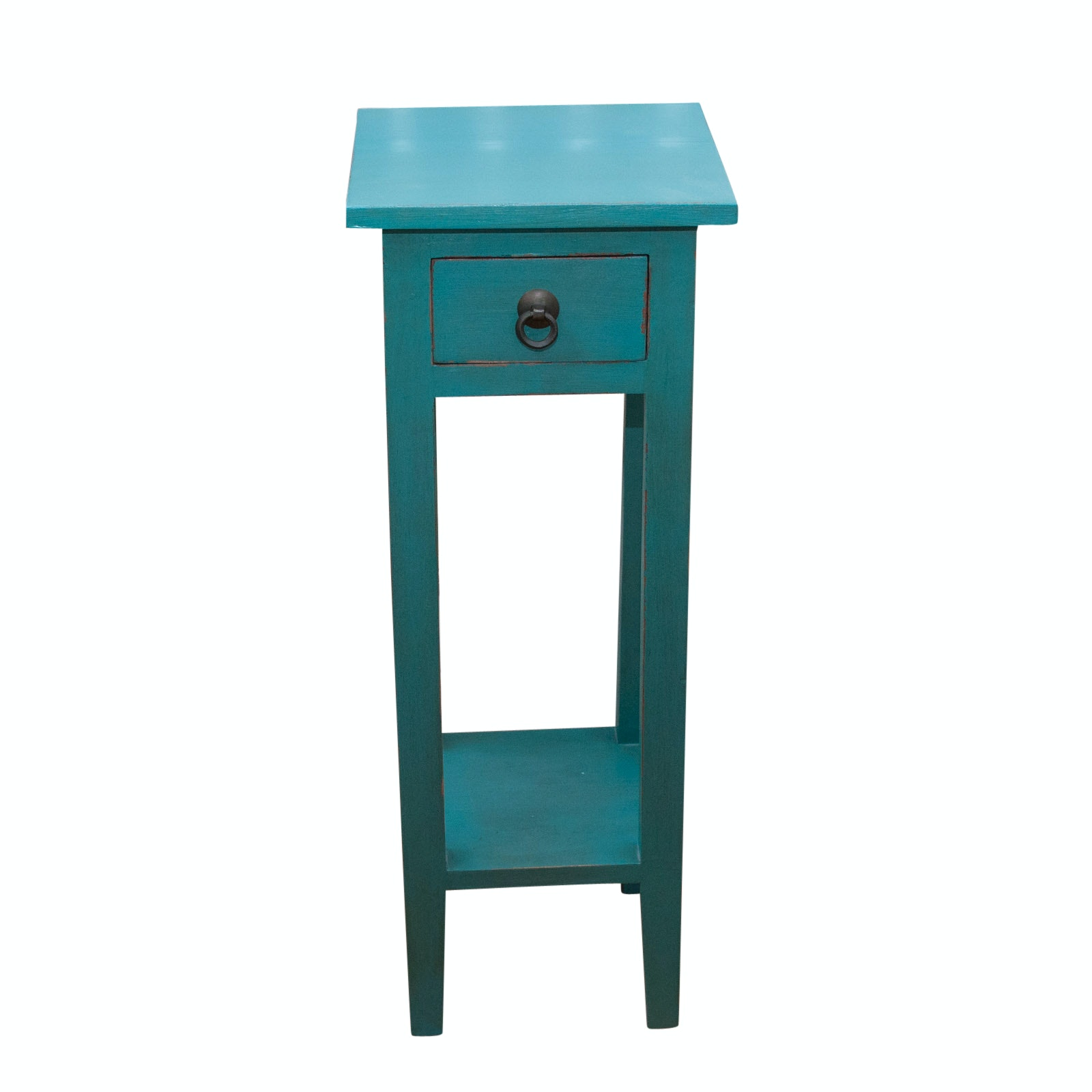 Painted Wooden Side Table