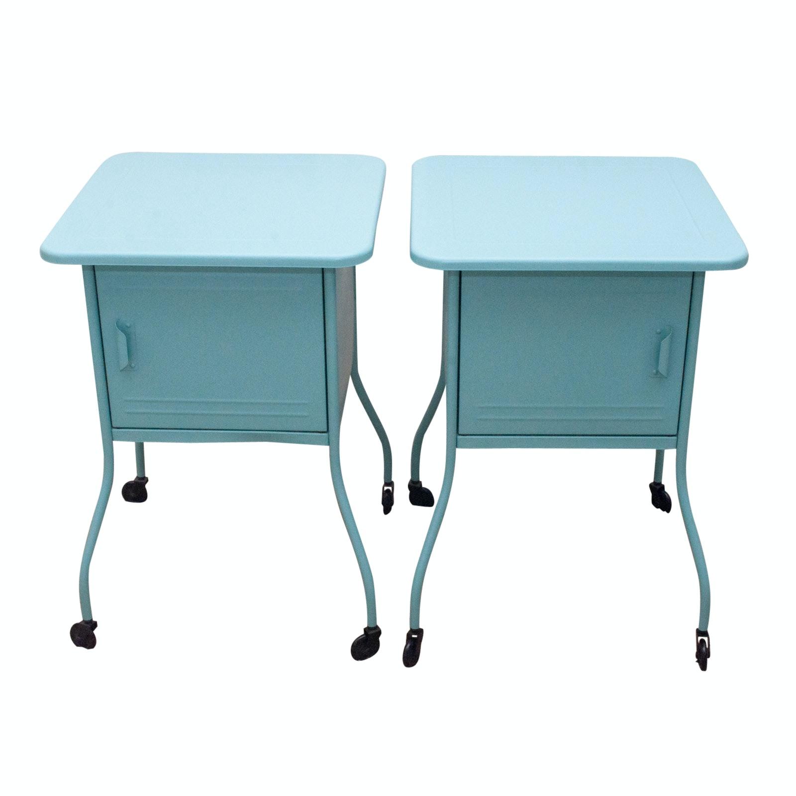 Pairing of Ikea Vettre  Metal Side Tables