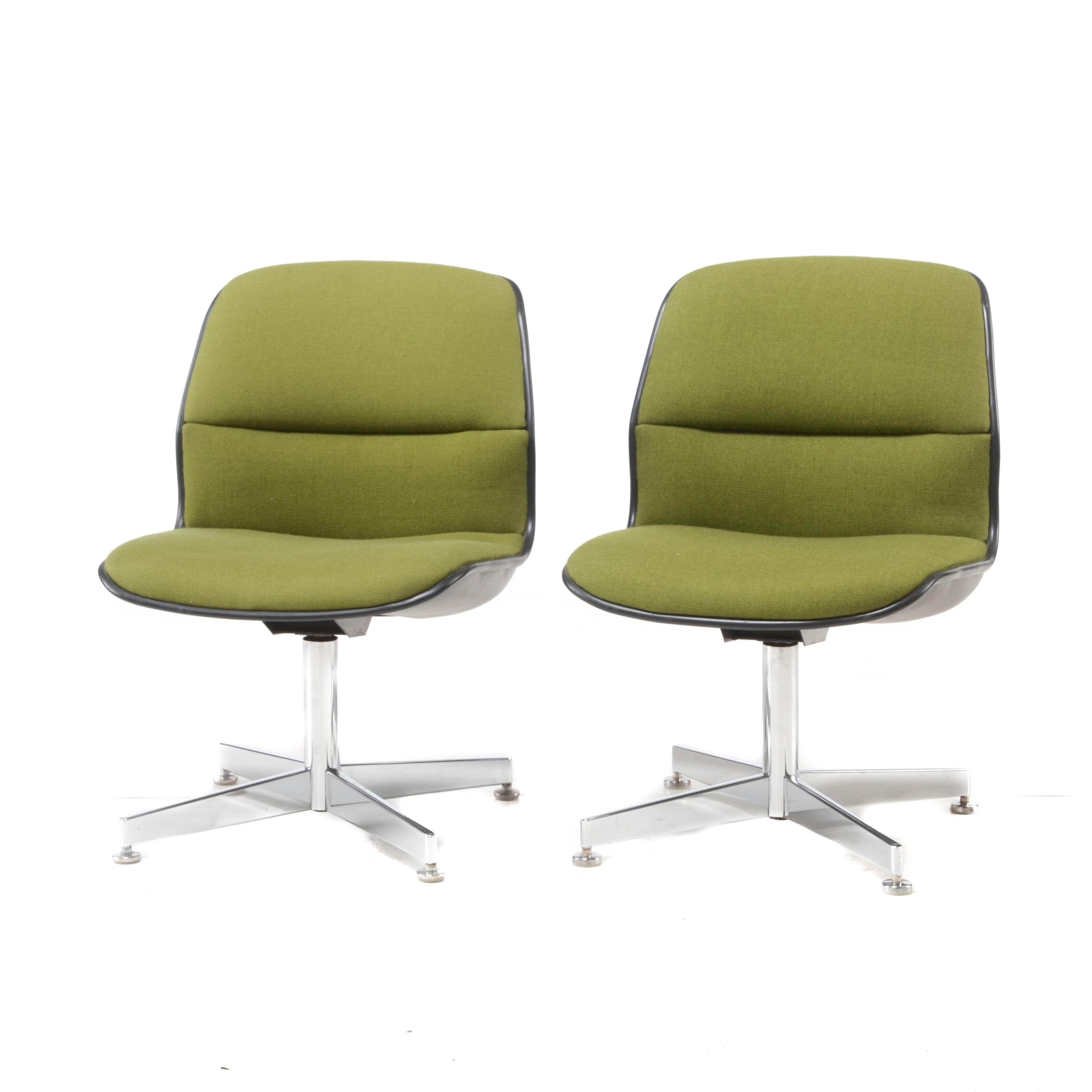 Pair of All-Steel Office Chairs