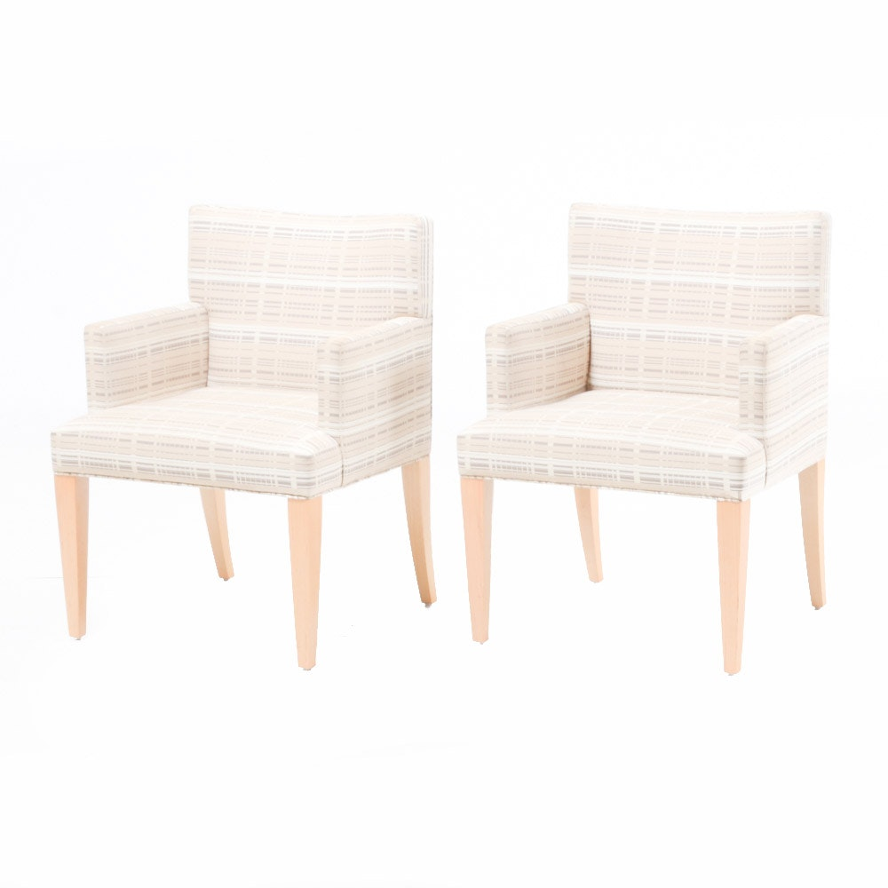 Pair of Contemporary HBF Furniture Chairs