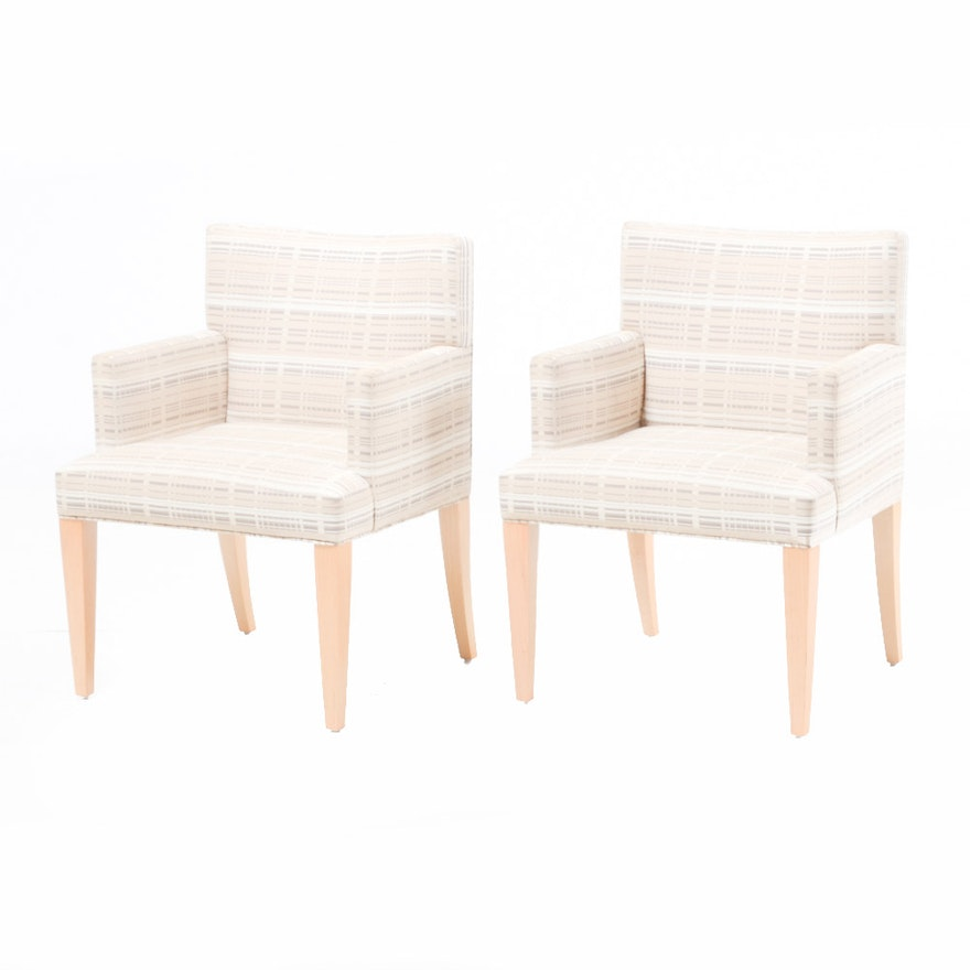 Pair Of Contemporary Hbf Furniture Chairs Ebth