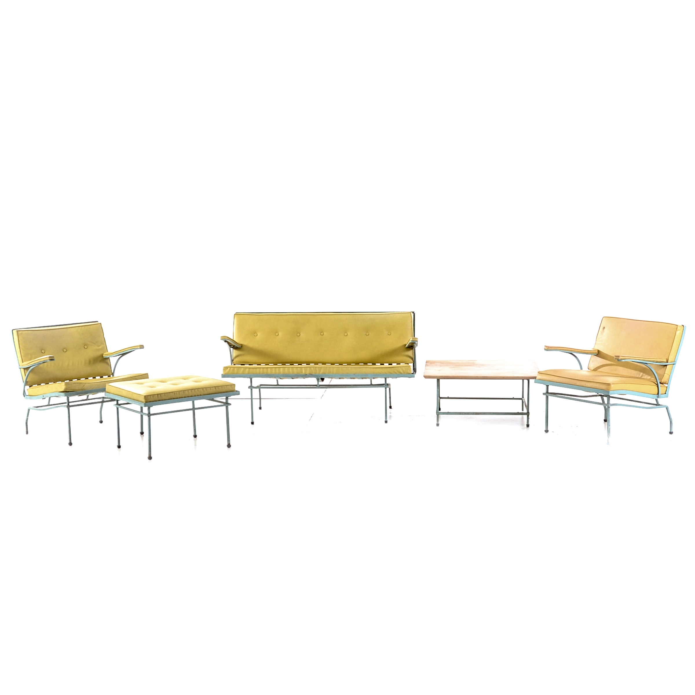 Lee Woodard and Son Five-Piece Patio Set