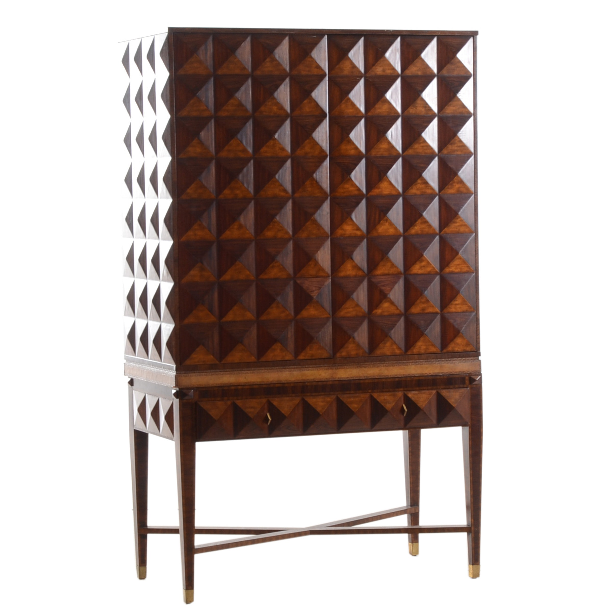 Maitland-Smith Faceted Cabinet