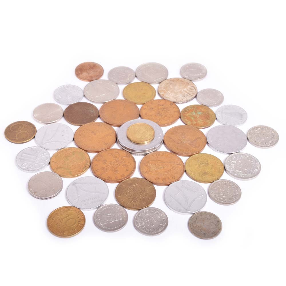 Loose Foreign Coins