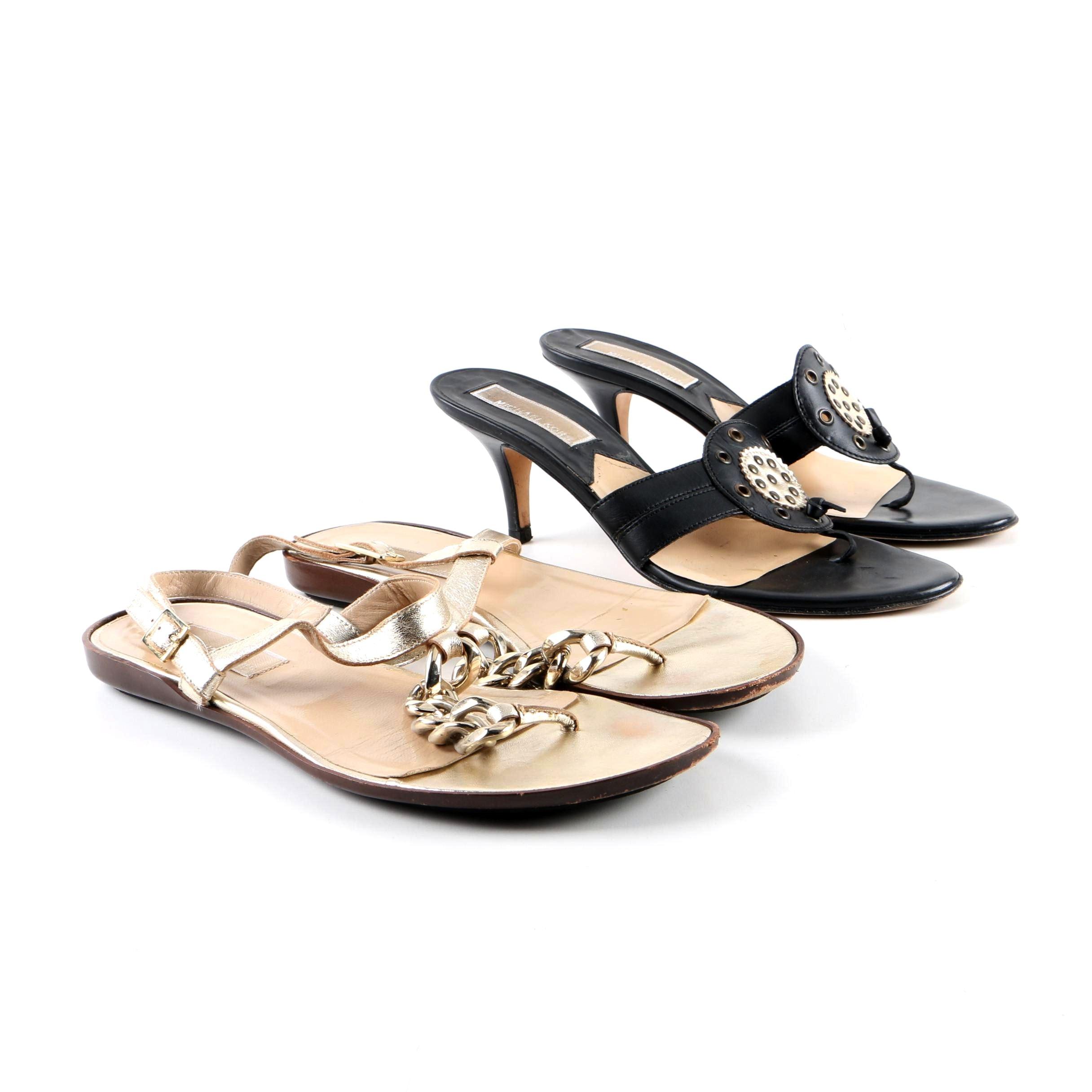 Women's MICHAEL Michael Kors Leather Sandals
