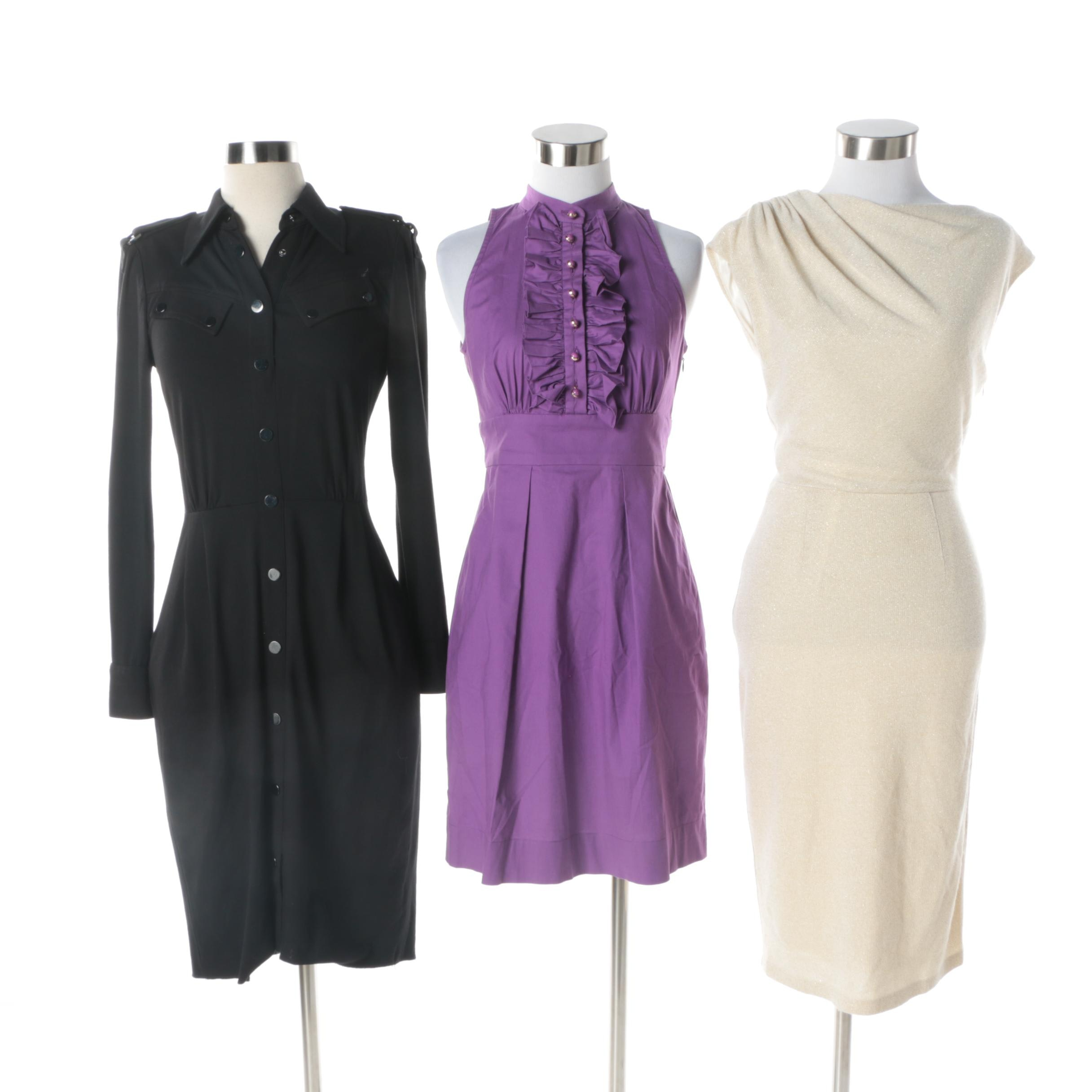 Women's Contemporary Dresses Including THML and Cache