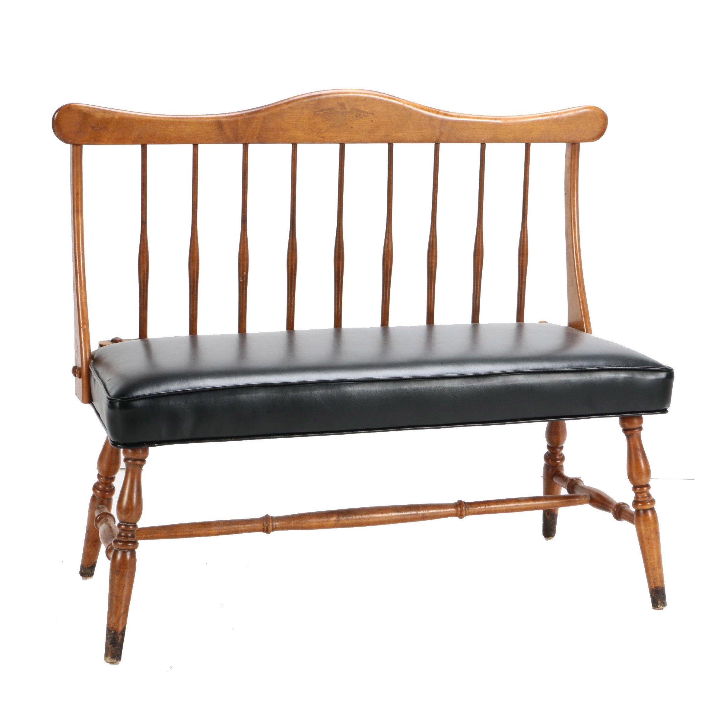 Windsor Style Accent Bench