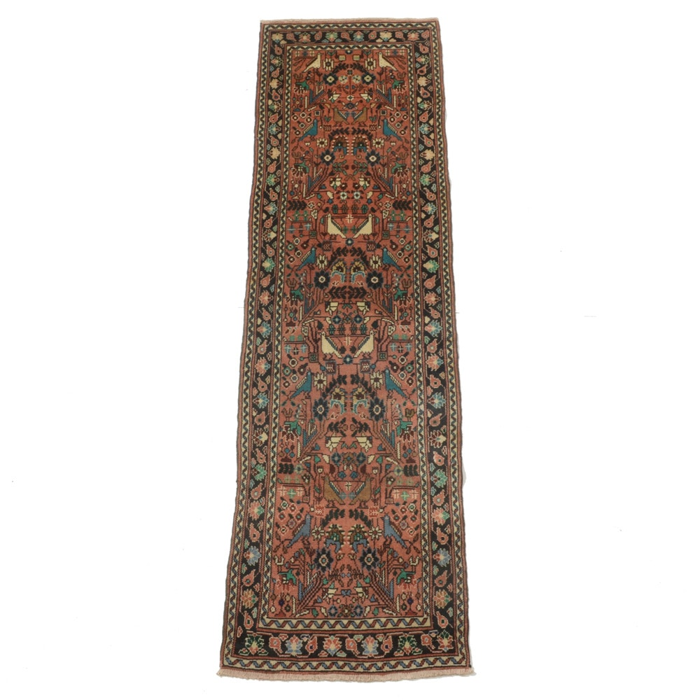 Hand-Knotted Persian Tree of Life Carpet Runner