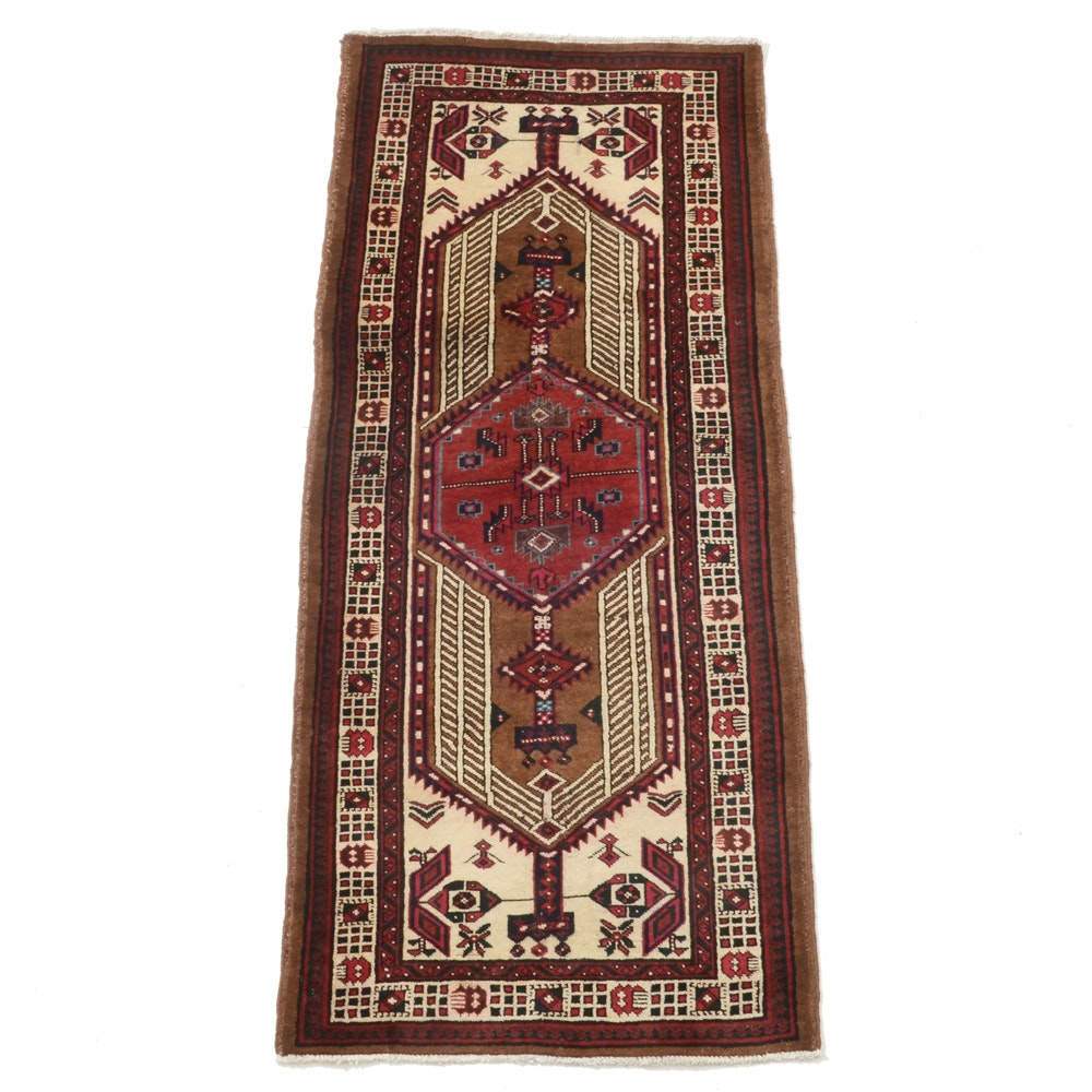 Hand-Knotted Persian Sarab Area Rug