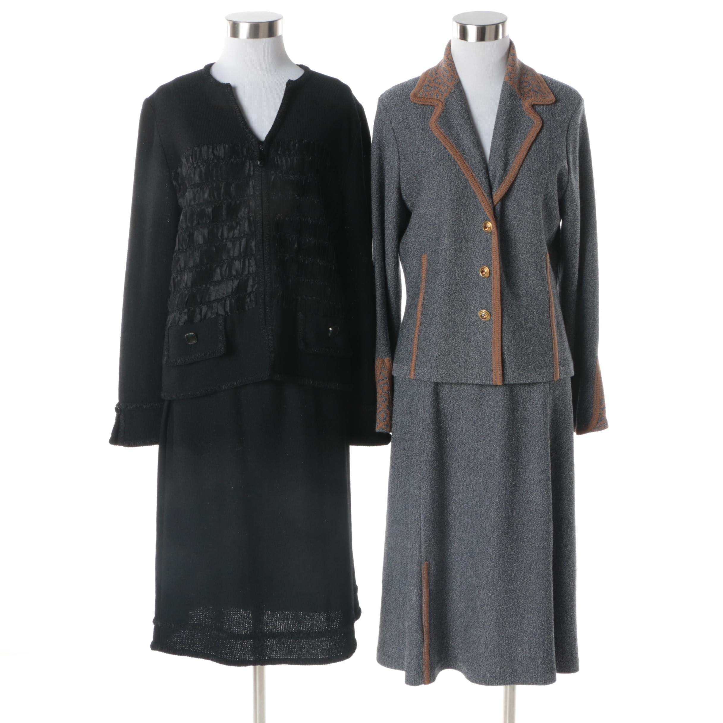 Women's Wool Blend Skirt Suits Including Rich and Levy