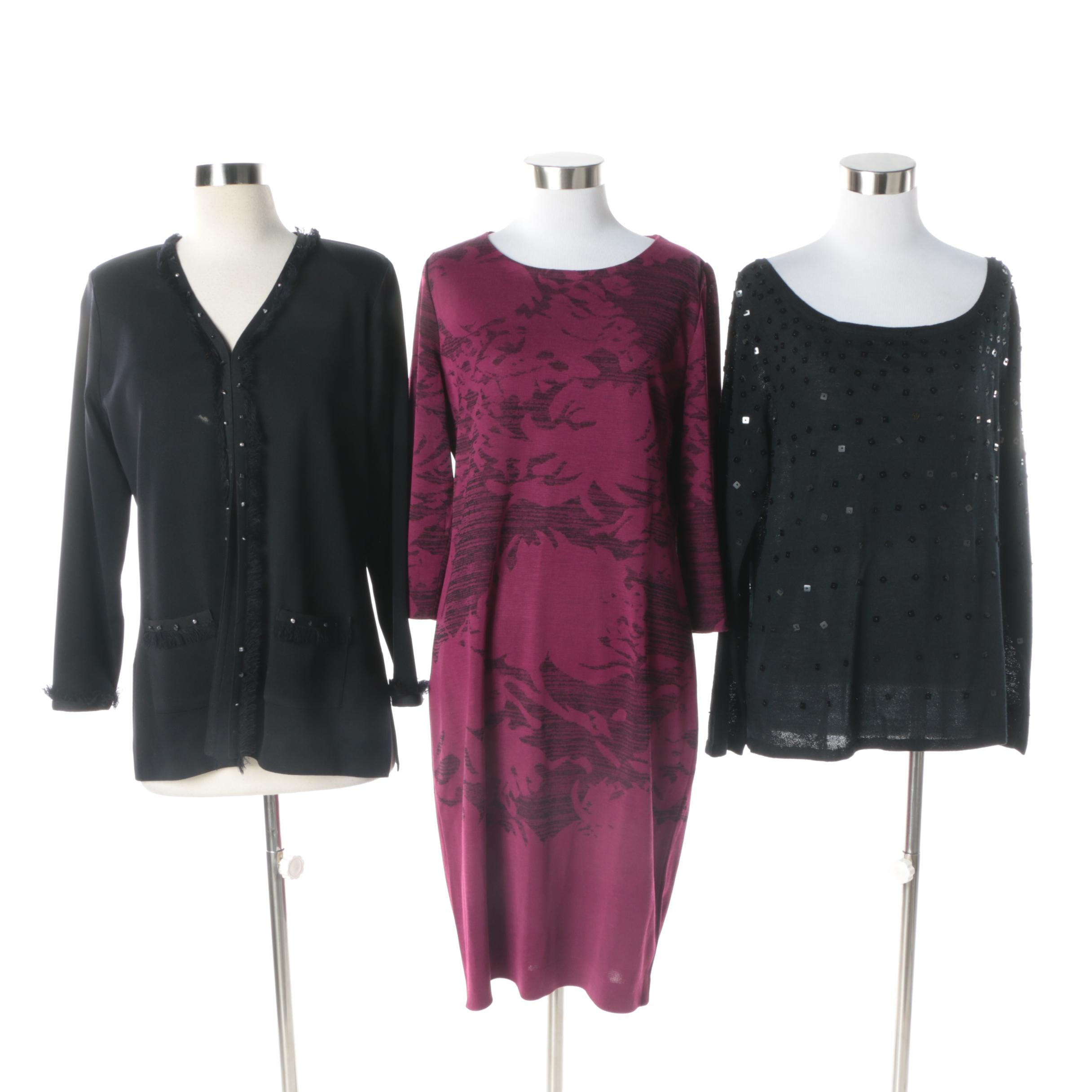 Women's Clothing Separates Including Misook and Colette Mordo