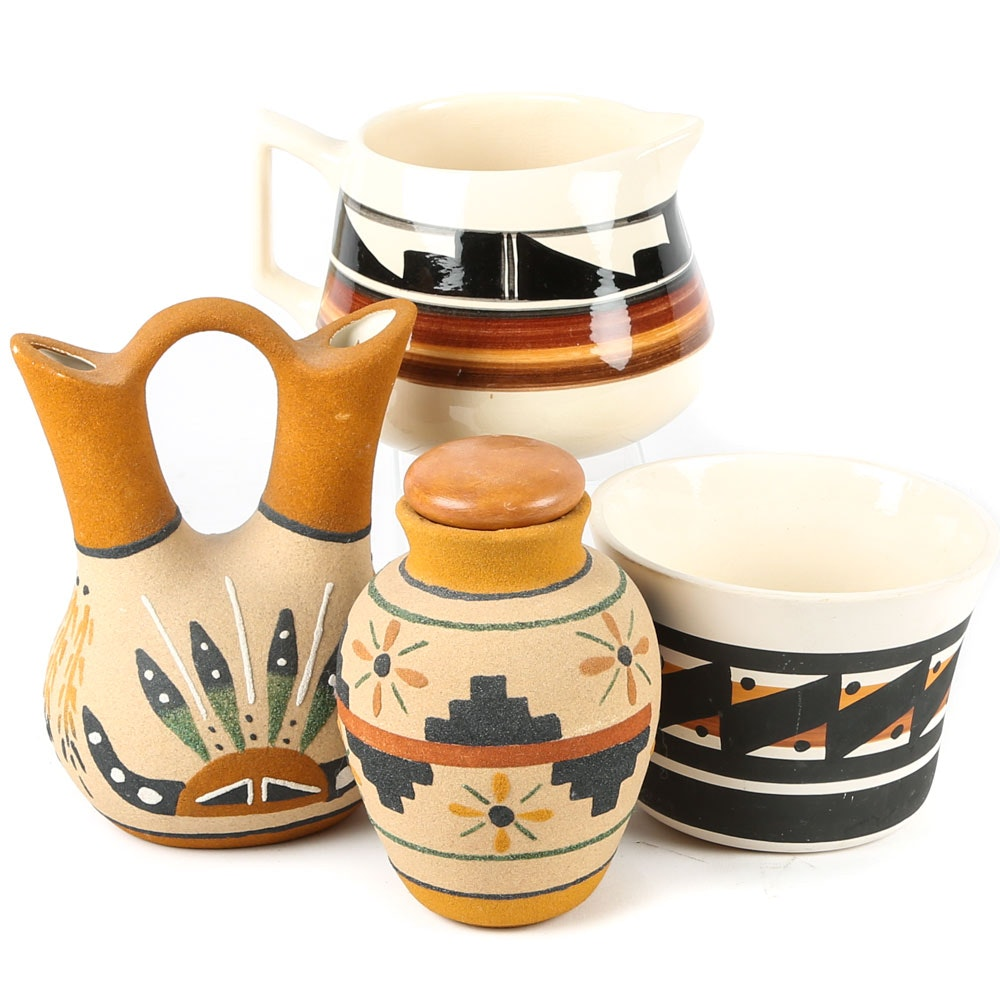 Ute and Southwestern Style Pottery