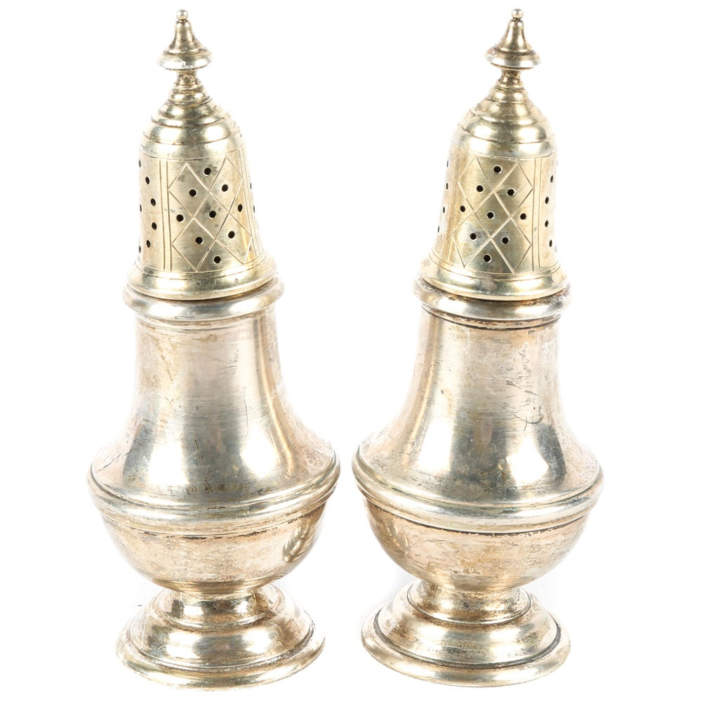 Gorham Sterling Silver Salt and Pepper Shakers