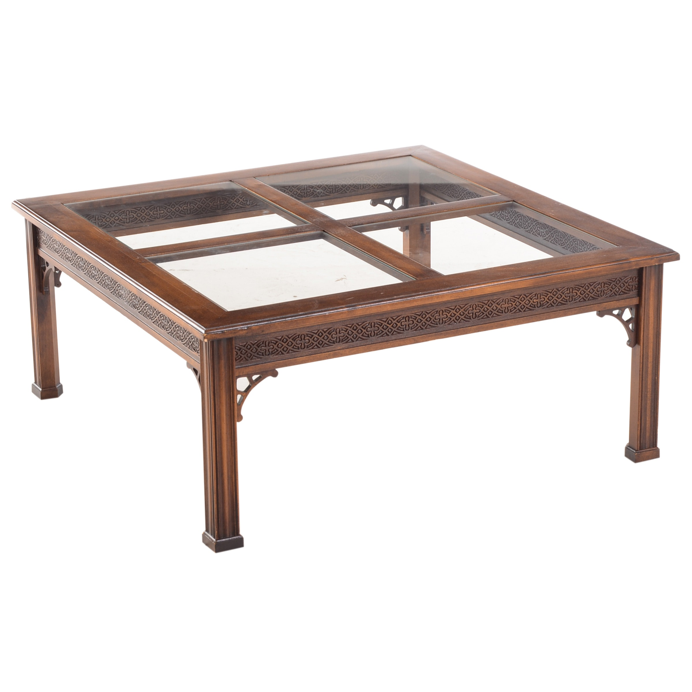 Contemporary Cherry Coffee Table by Brandt