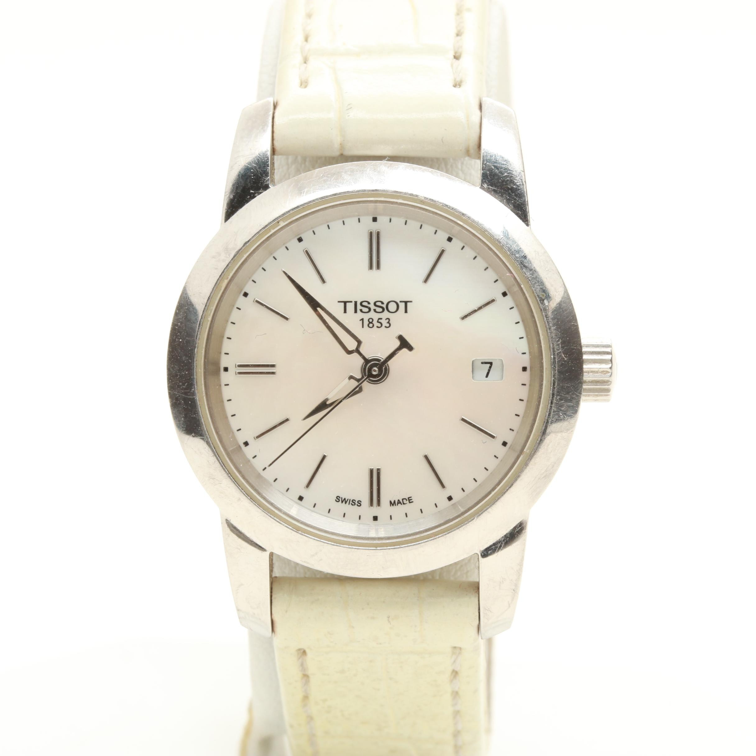 Tissot 1853 Swiss Made Stainless Steel Mother of Pearl Wristwatch