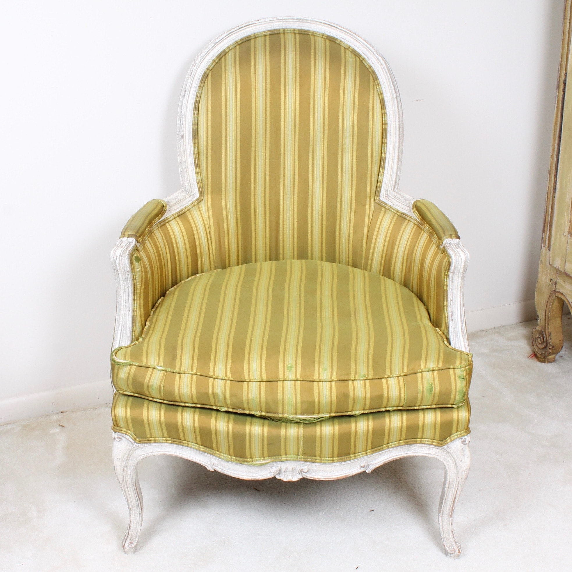 Vintage Baker Furniture Bergere Chair