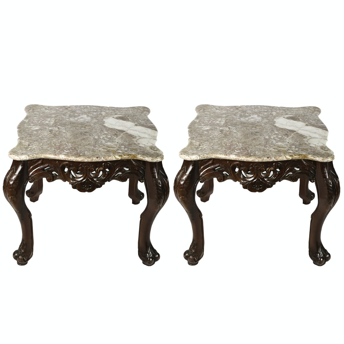 Italian Baroque Style Side Tables