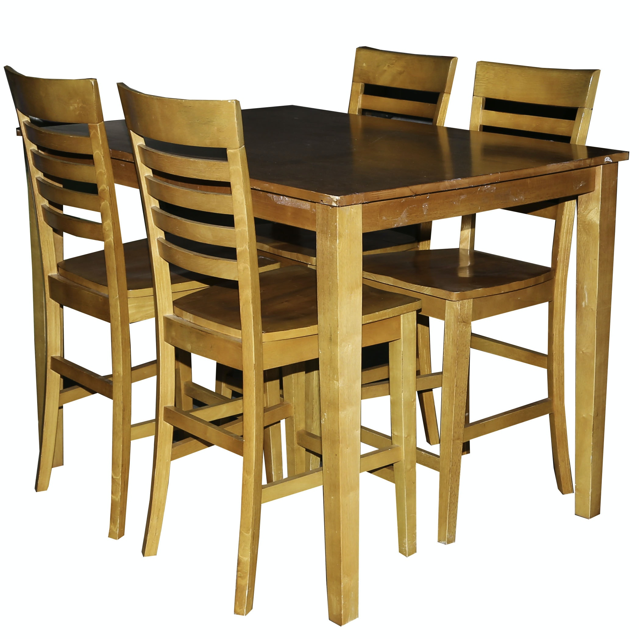 Contemporary Pub Style Table and Chairs