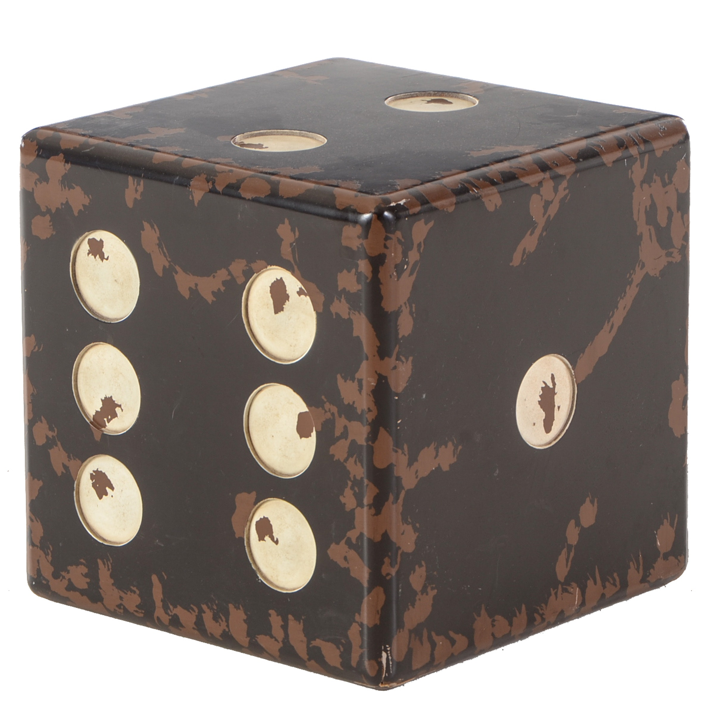 Molded Die (Dice) Accent Table