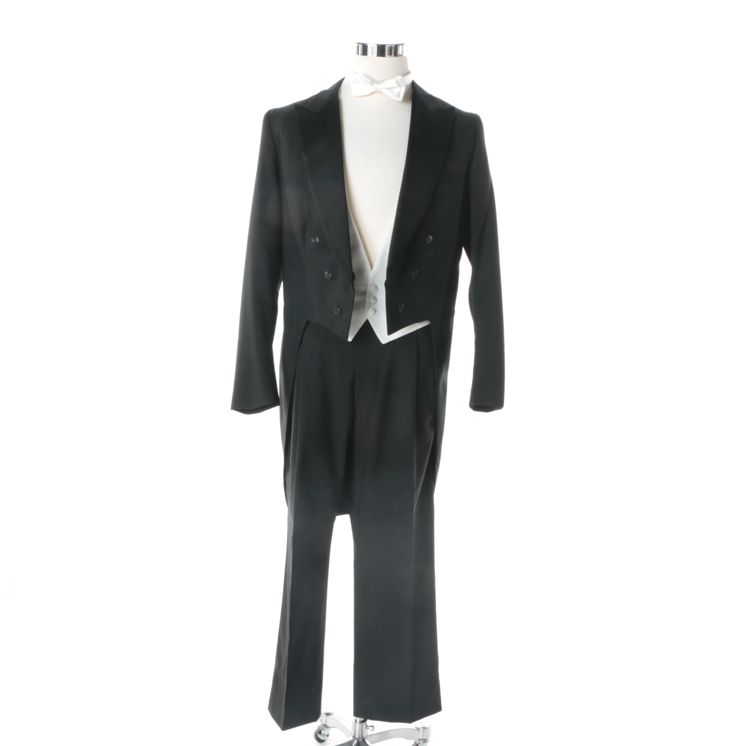 Men's Formal Wear Including Pierre Cardin and Christian Dior