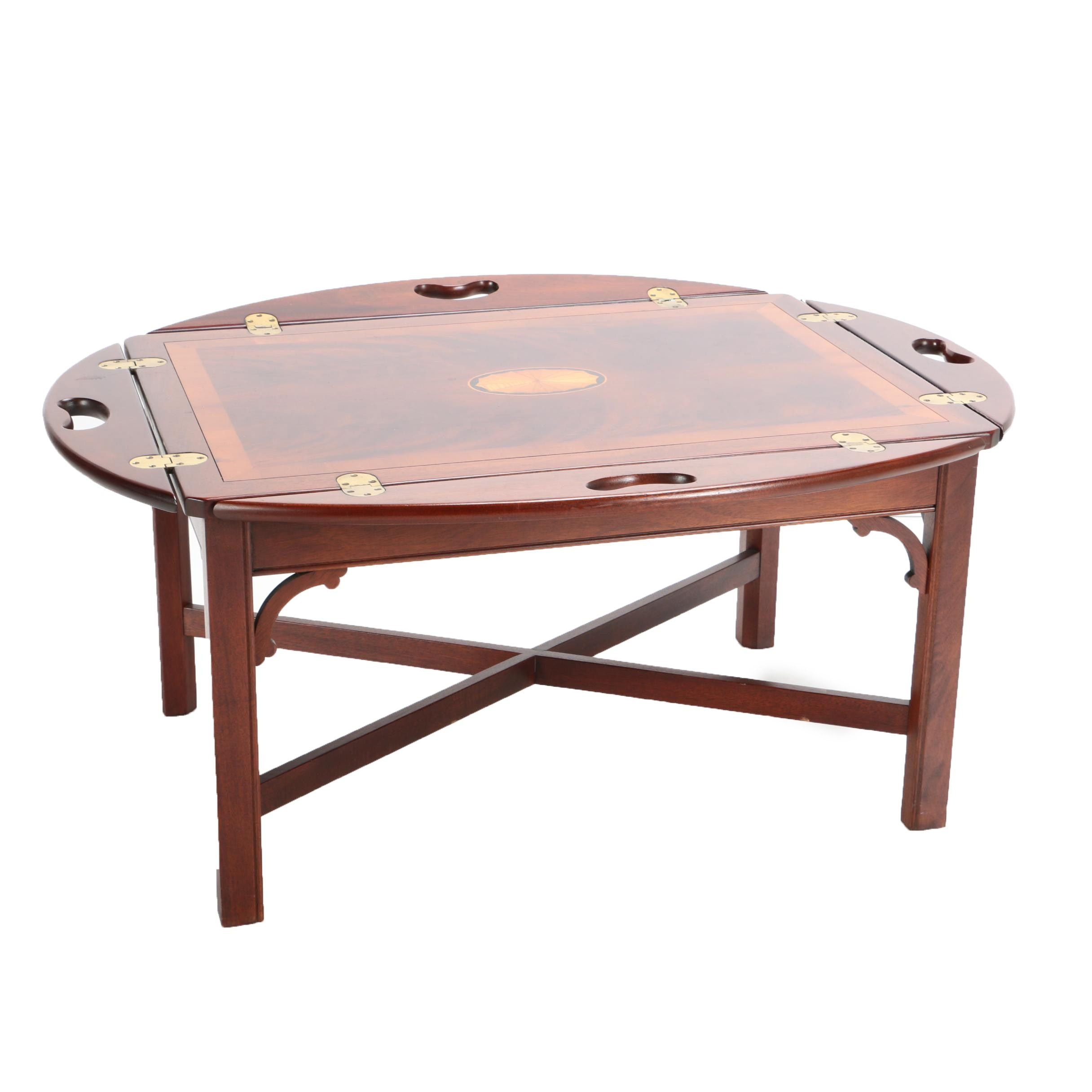 Federal Style Butler's Tray Coffee Table by Hekman Furniture Company