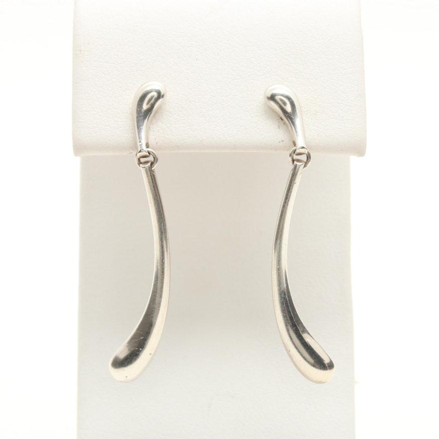 ce7aa708e8647 Elsa Peretti for Tiffany & Co. Sterling Silver Teardrop Earrings