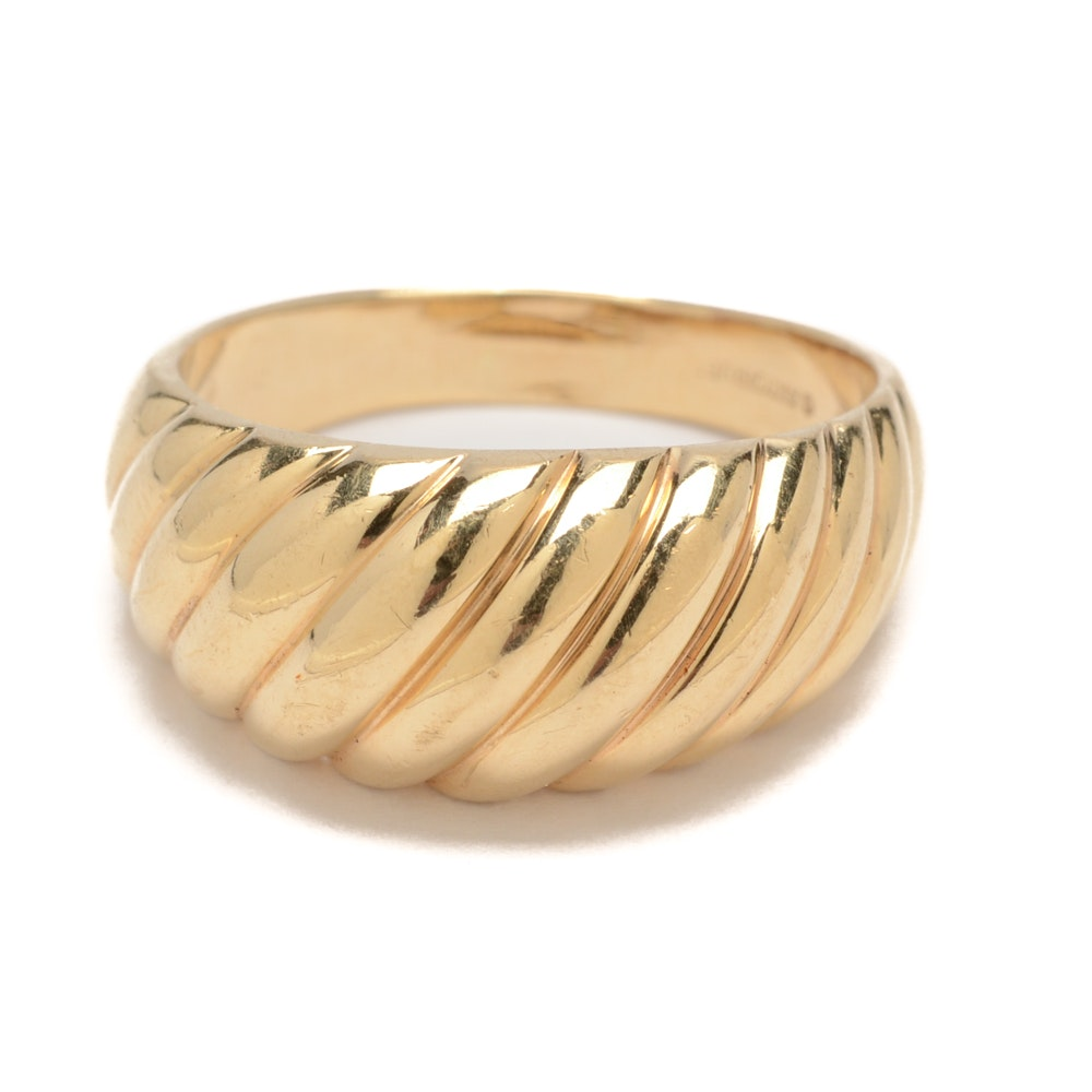 ArtCarved 14K Yellow Gold Ring Band