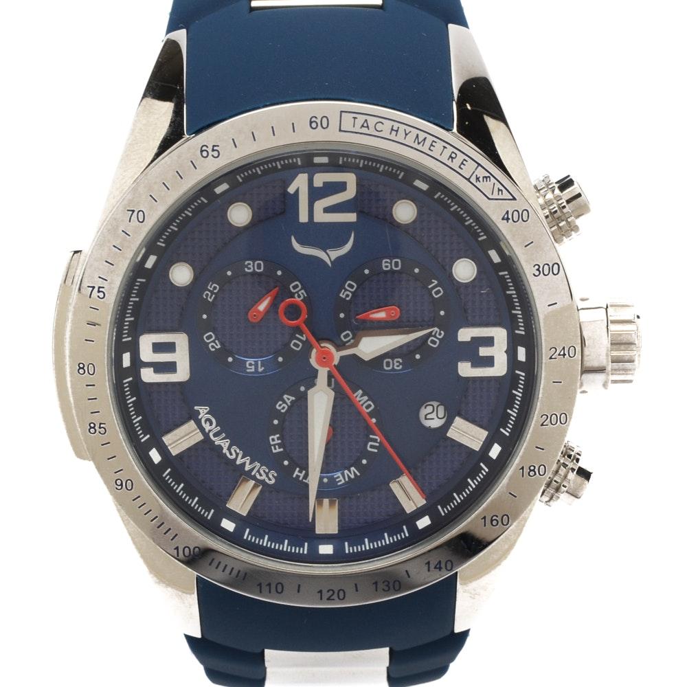 Aquaswiss Trax 6H Chronograph Wristwatch