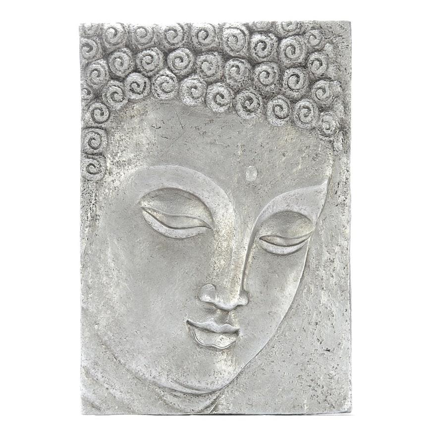 Decorative Plaster Cast Indian Deity Wall Panel : EBTH