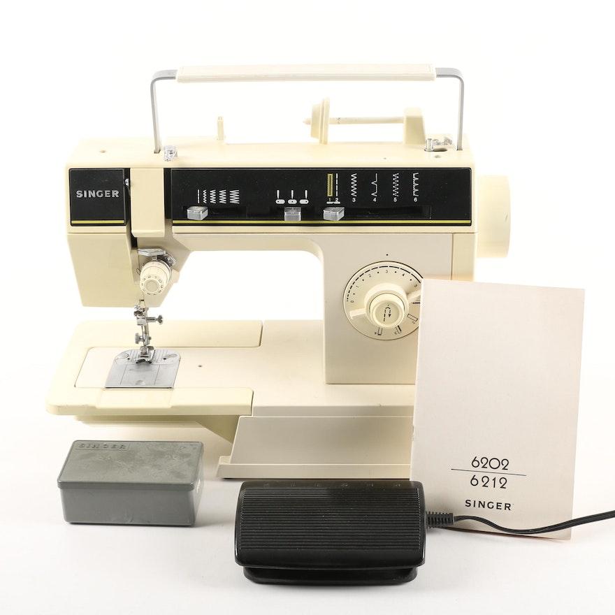 Vintage Singer 40C Sewing Machine With Manual Assorted Sewing Custom Singer Sewing Machine 6212c