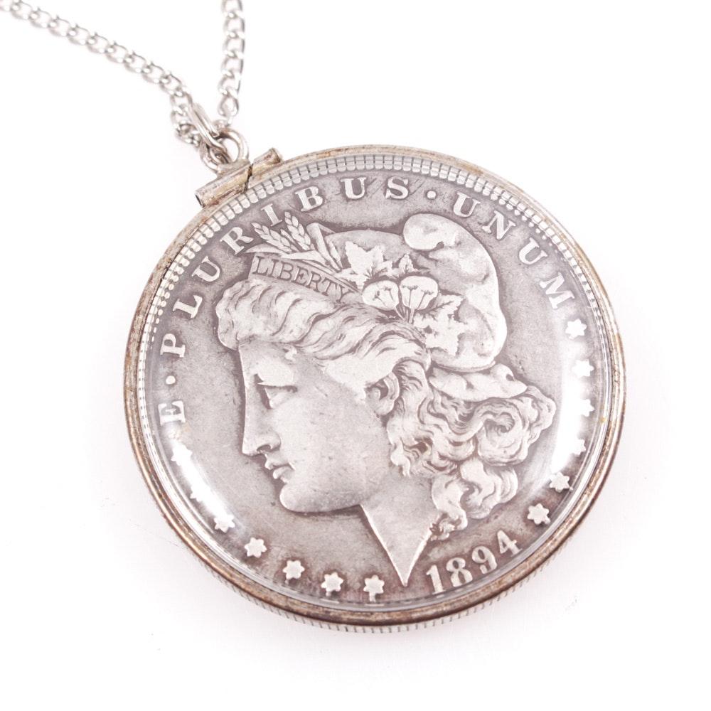 1894-S Morgan Silver Dollar Necklace
