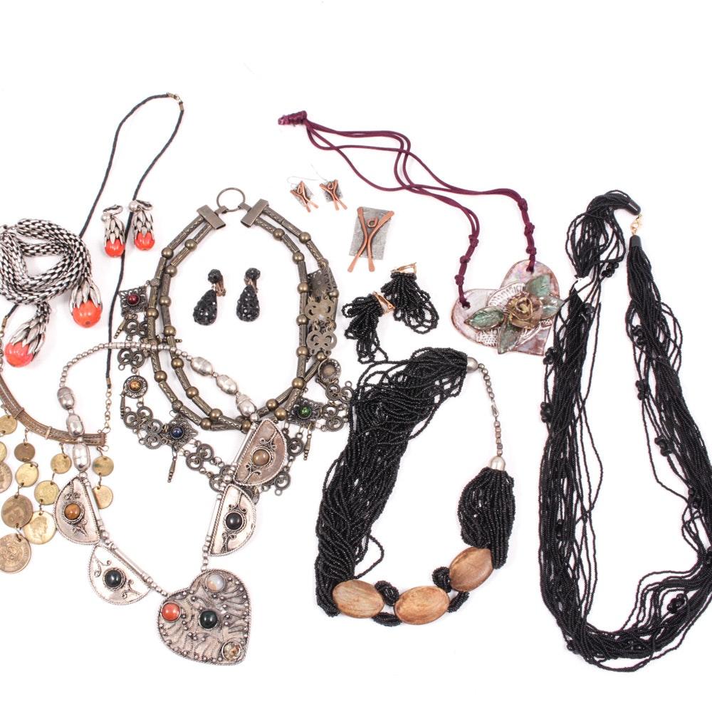 Artisan Made and Beaded Jewelry