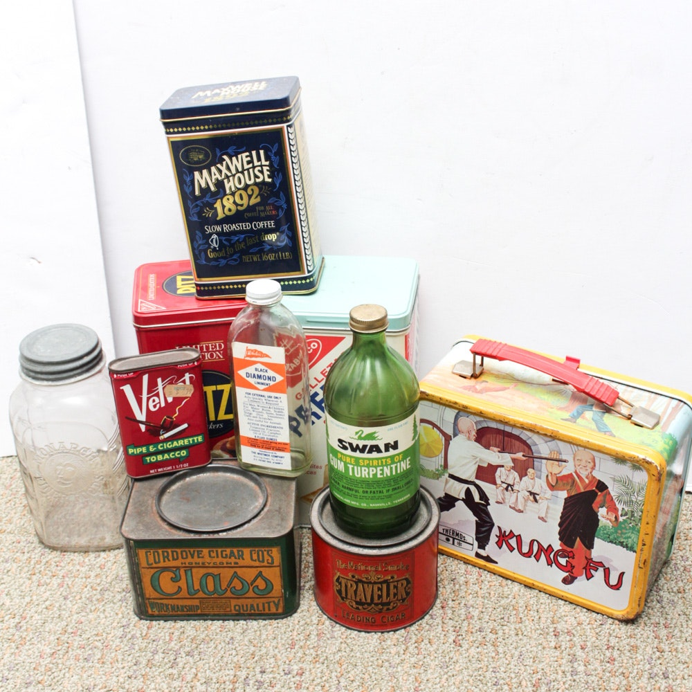 Antique and Vintage Containers and Collectibles